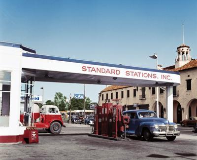 Standard Oil station