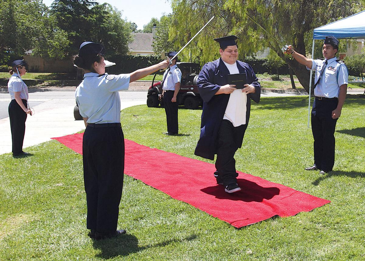Diplomas distributed at West High