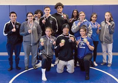 Mountain House wrestling team
