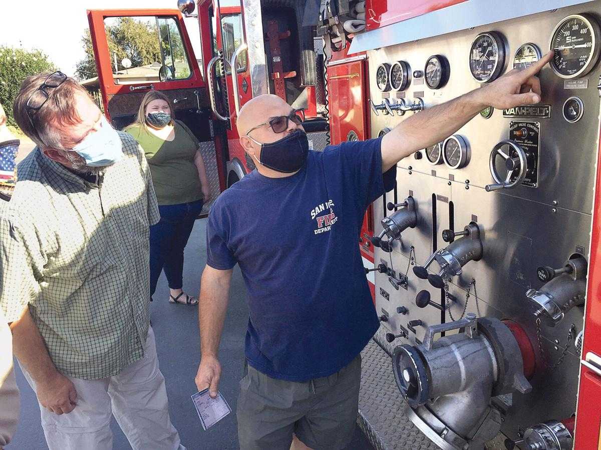 DCHS acquires fire engine