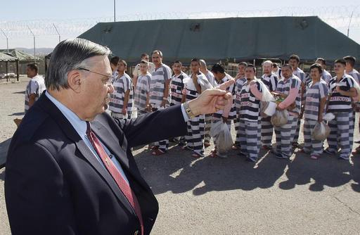 Tent City, Joe Arpaio's infamous outdoor jail, shut down