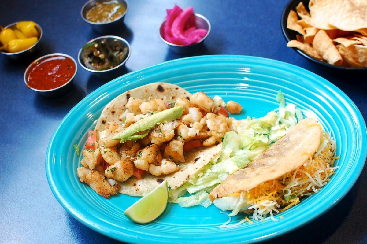 Papa Locos fish taco