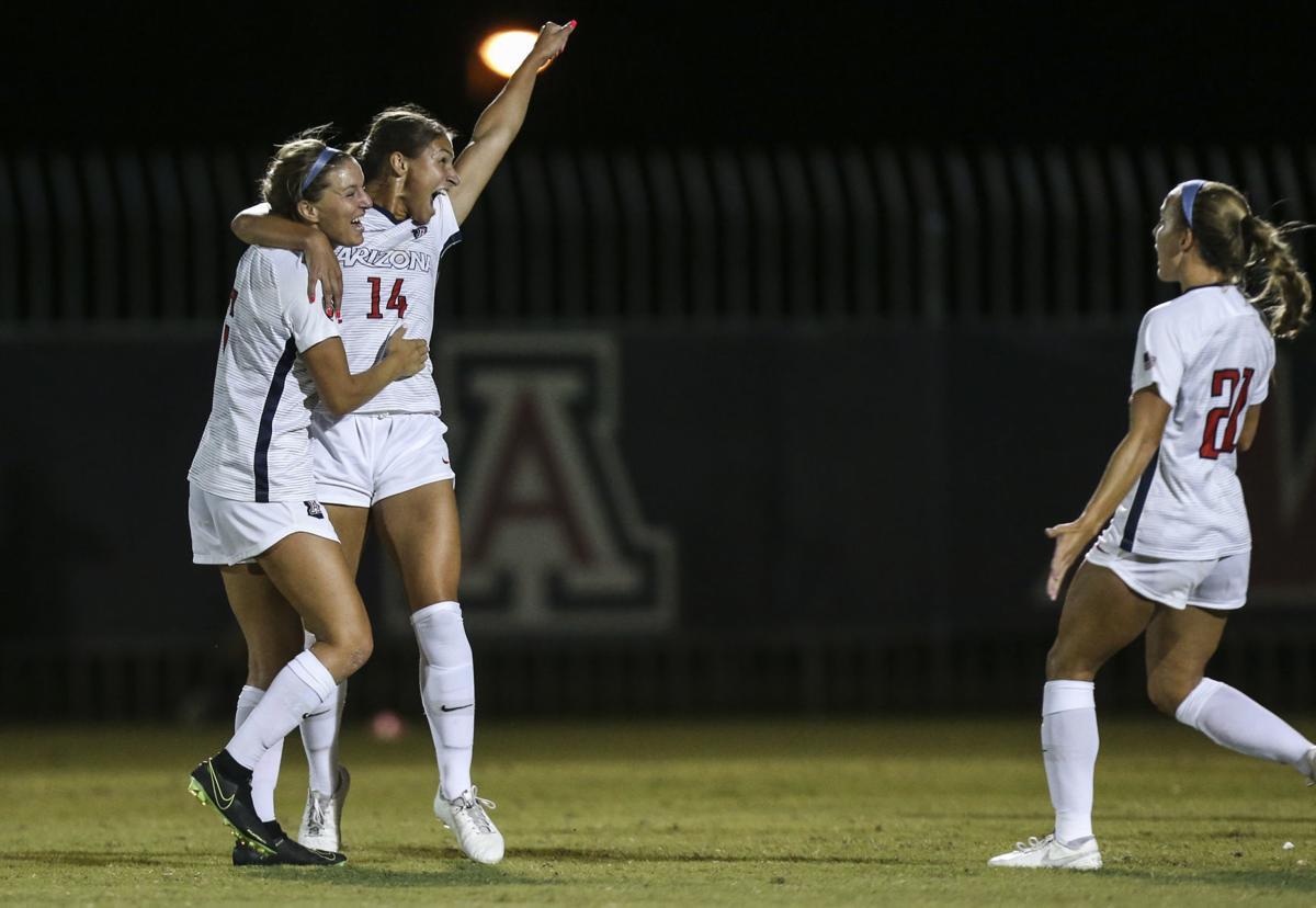UA vs TCU Womens Soccer