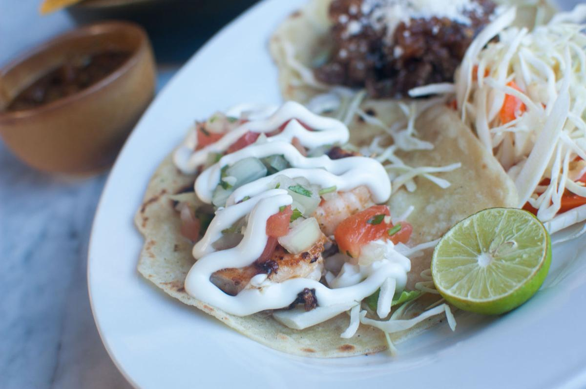 Reforma shrimp taco