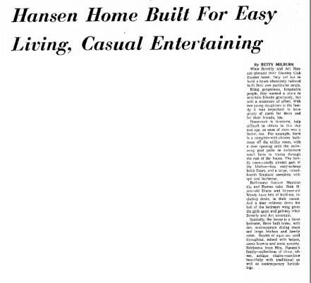 Article from the Tucson Citizen Nov. 8, 1958