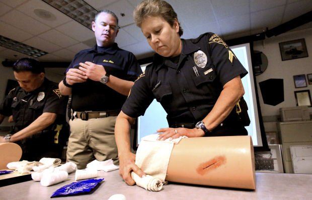 Individual first-aid kit for TPD officers