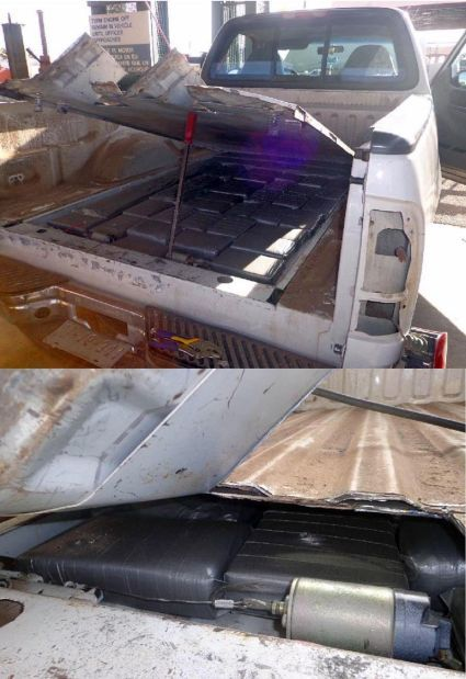Border officers find drug assortment in Mexican woman's pickup truck