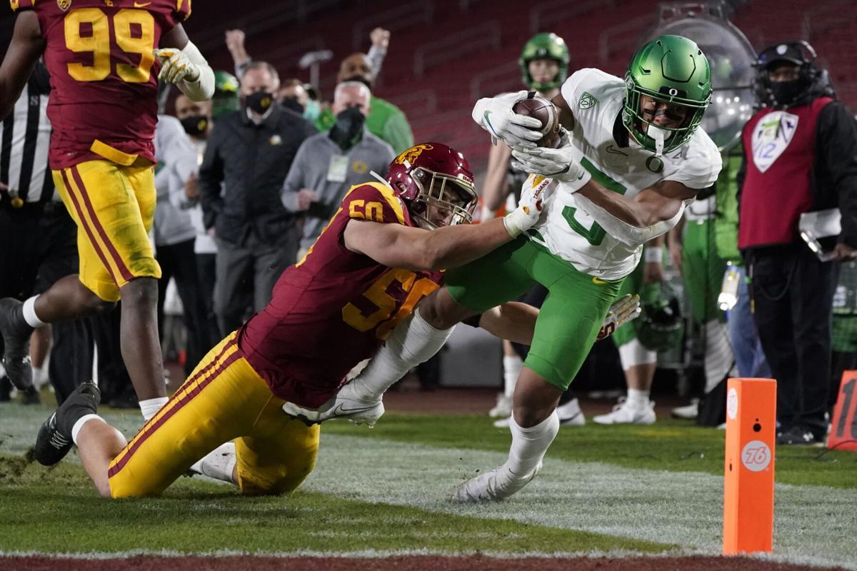 Oregon USC Football