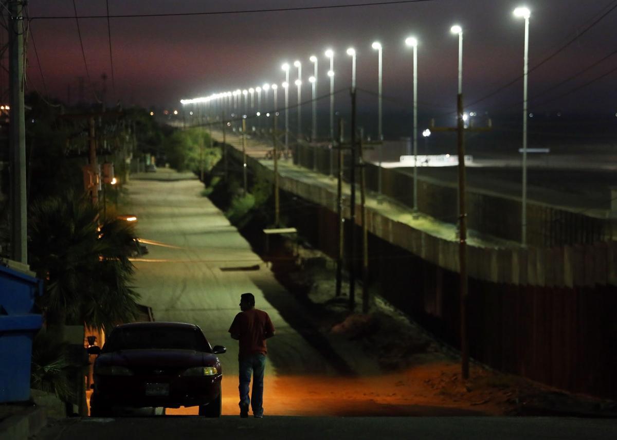 U.S./Mexico border in Yuma