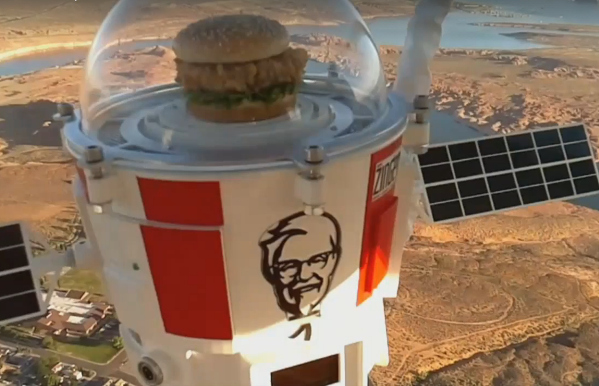 Tucson's World View launches chicken sandwich into stratosphere