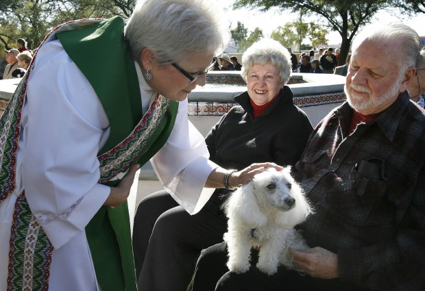 Critters, people share loving bond at Blessing