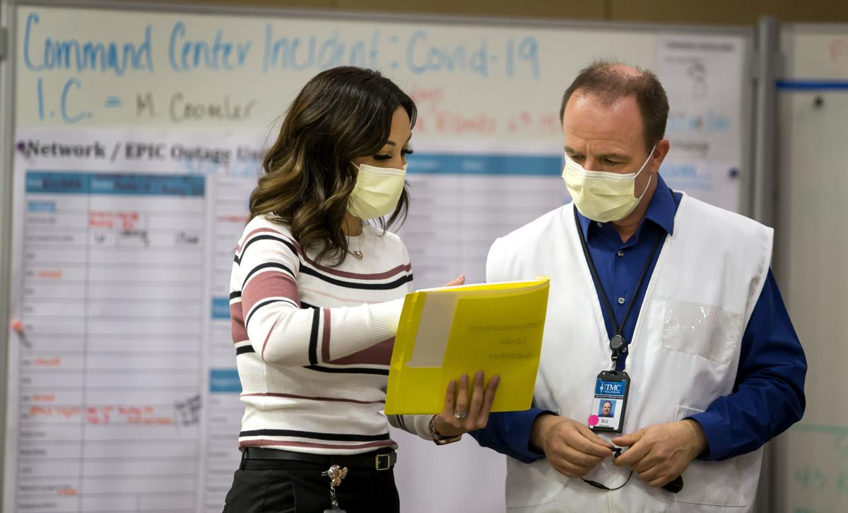 Tucson's hospitals managing a healthcare crisis as beds fill, patient transfers increase
