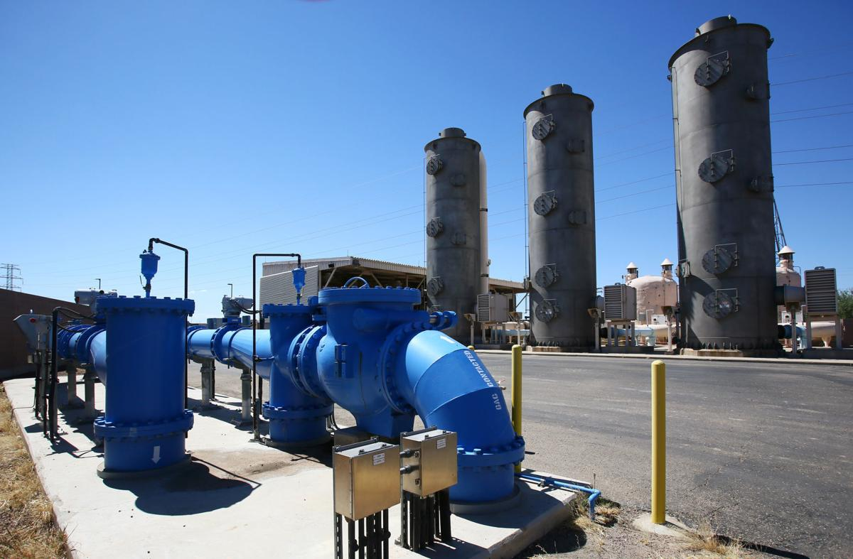Advanced Oxidation Process Water Treatment facility