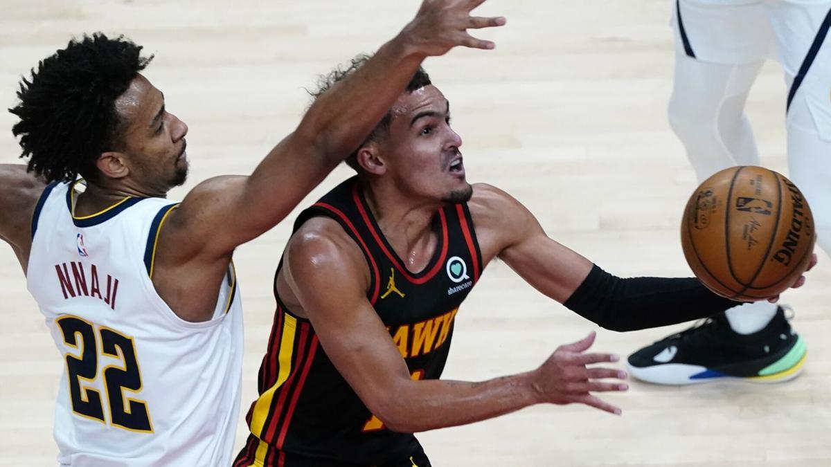Nuggets Hawks Basketball