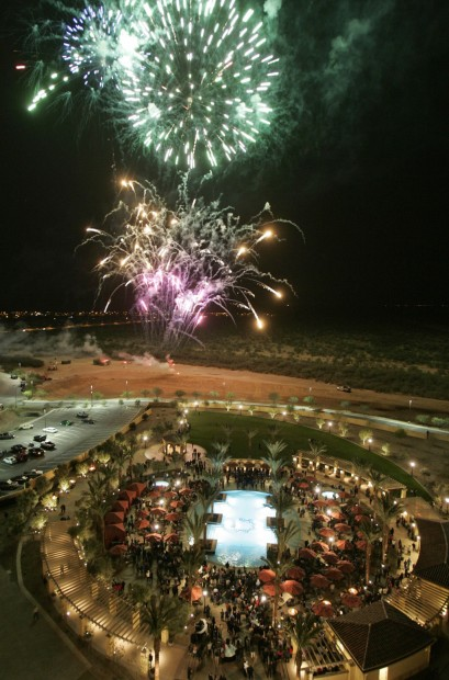 Party opens Casino del Sol's expansion into area resort