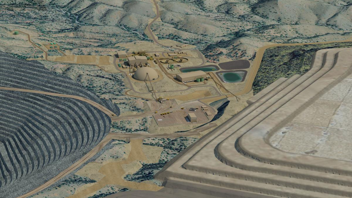 Rendering of Rosemont Mine