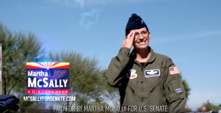 McSally releases new Senate ad