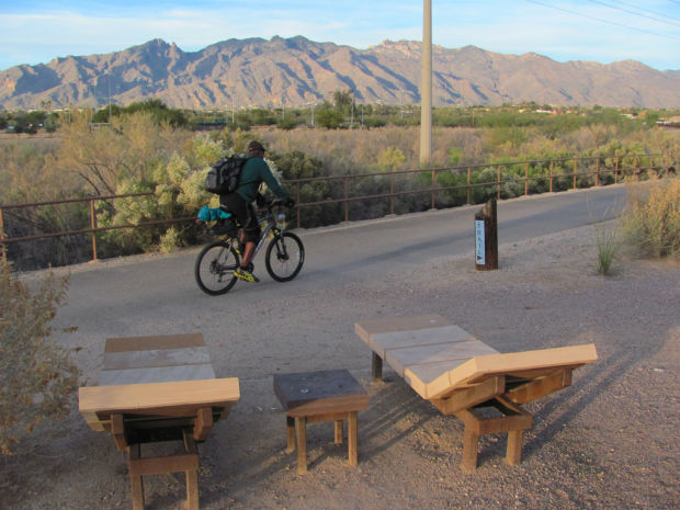 Trailside seating