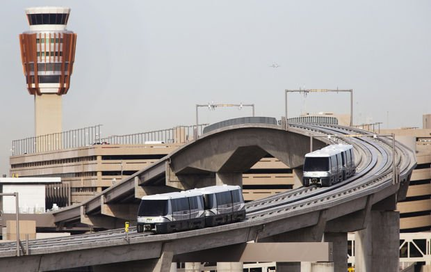 Phoenix's automated Sky Train set to roll, offering airport link