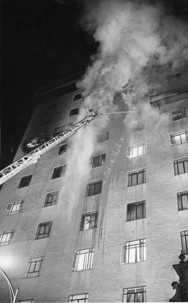 Pioneer International Hotel fire in Tucson