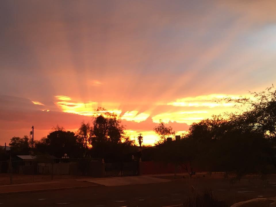 Reader sunsets