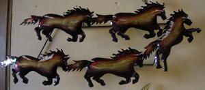 lawn art wall art horses.JPG