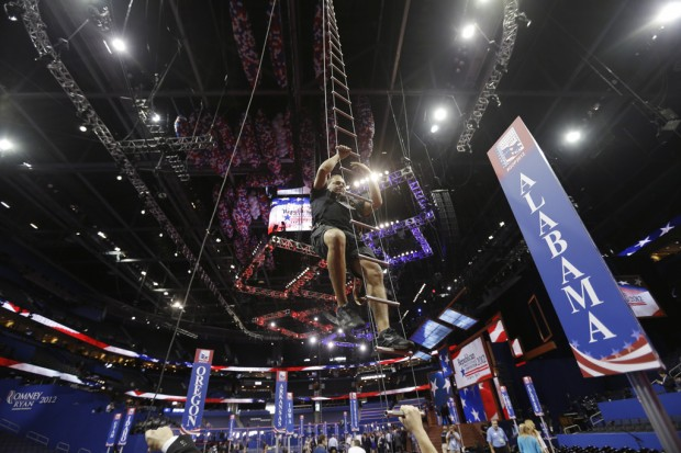 GOP convention kicks off on a toned-down note