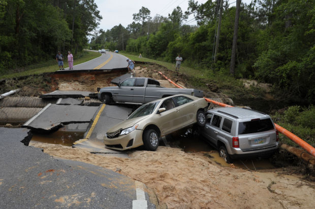 Weather damage and flooding around the U.S.