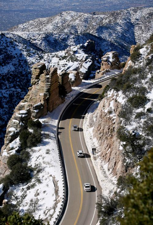 Snow in the Santa Catalina Mountains