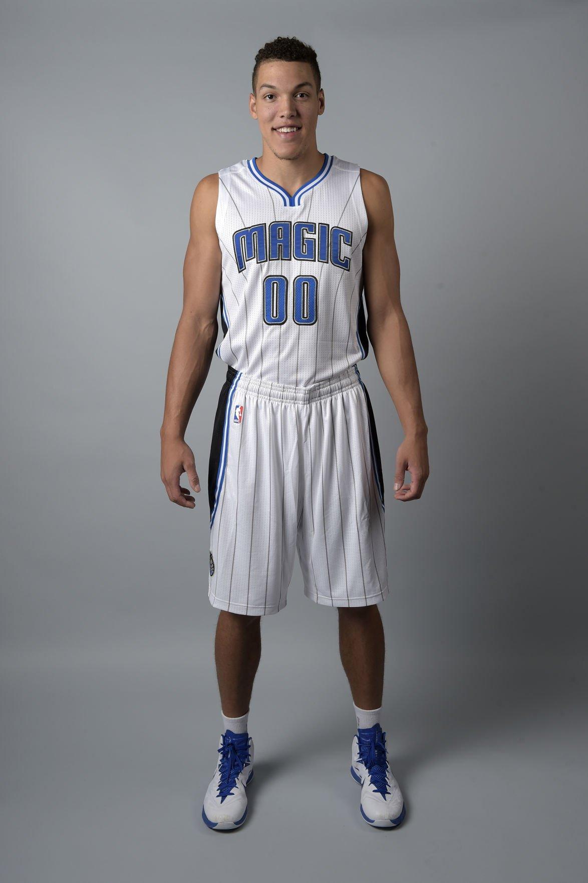 Aaron Gordon Arizona Wildcats Basketball Jersey-White
