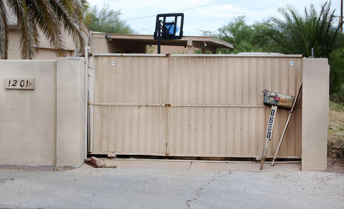 Property raided by Tucson Police