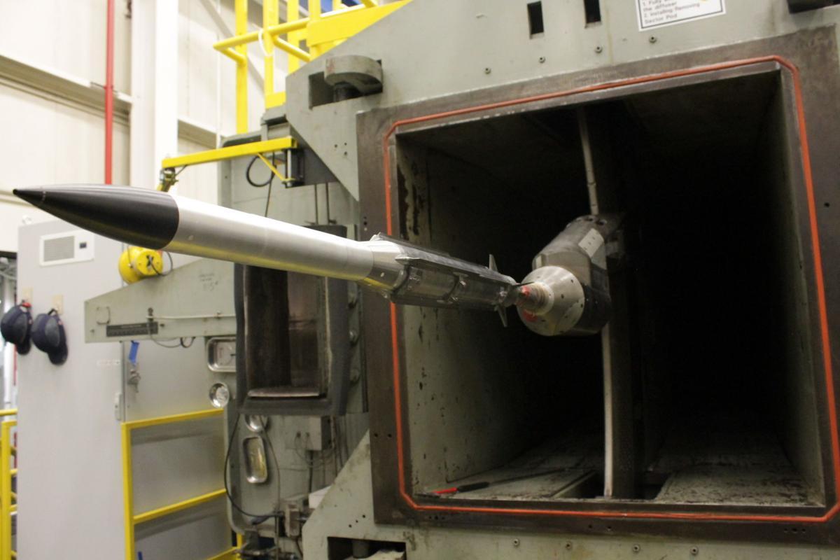 Raytheon testing