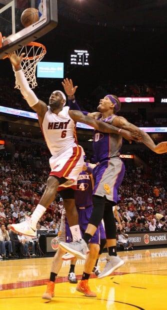 NBA: Heat 124, Suns 99: Better defensive effort leads to hotter offense