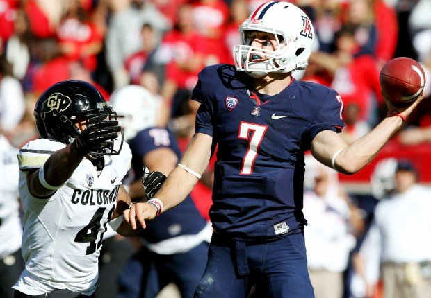 Arizona vs. Colorado college football