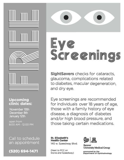 d975272af8b Sight Savers  Free Glaucoma and Eye Care Screening