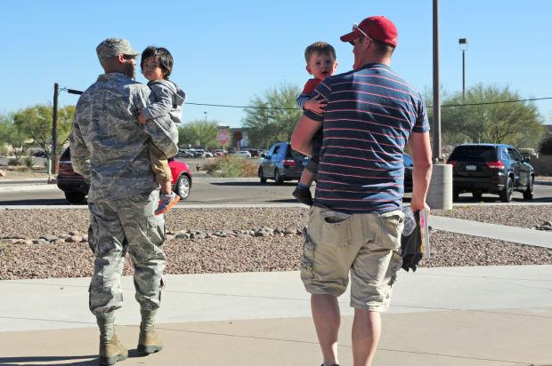 D-M Dads stand-up AFRC program