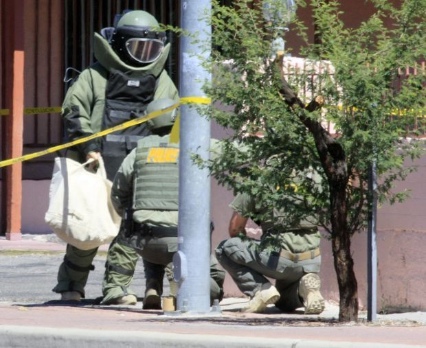 Suspicious package prompts evacuation in South Tucson