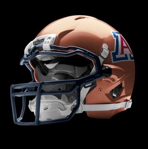 Arizona's copper helmet