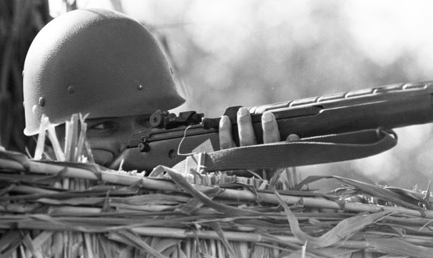 Vietnam War training at Ft. Huachuca