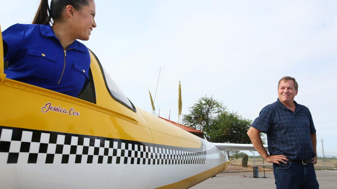 Nevada man donates plane to armless Tucson pilot and her foundation
