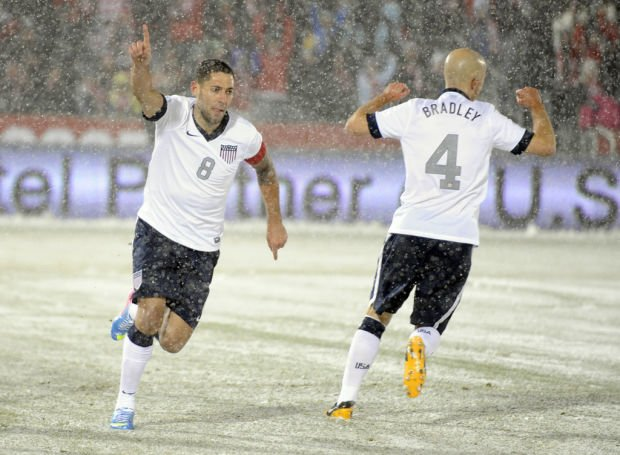 World Cup qualifying: USA 1, Costa Rica 0: US digs out from the snow
