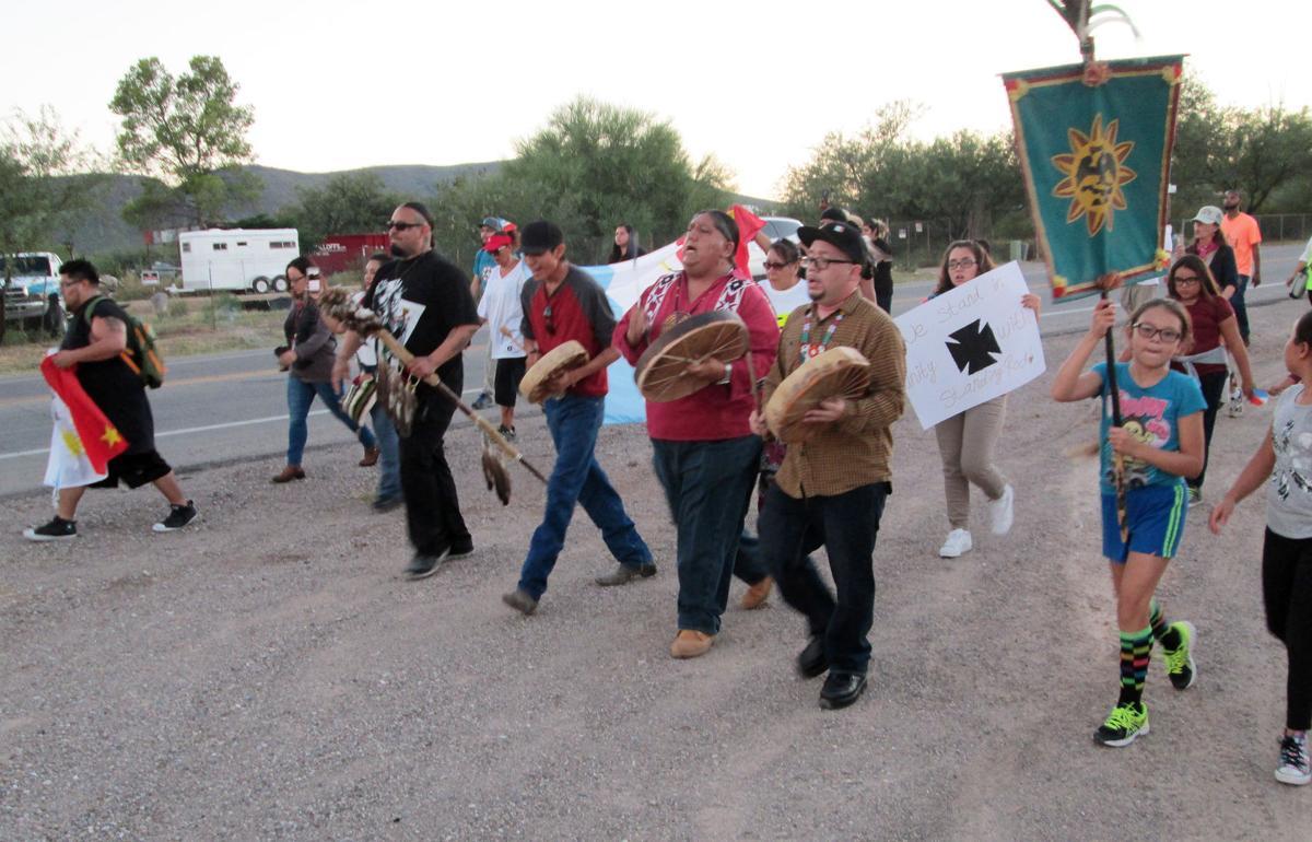 Dakota Access Pipeline protest in Tucson