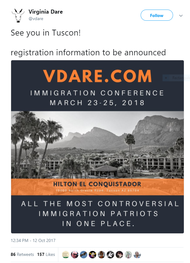 Immigration conference ad