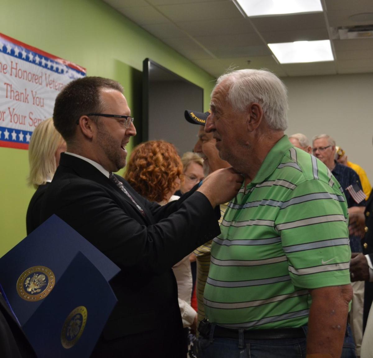 Vietnam War Commemoration Veterans Pinning Ceremony Hosted by Humana
