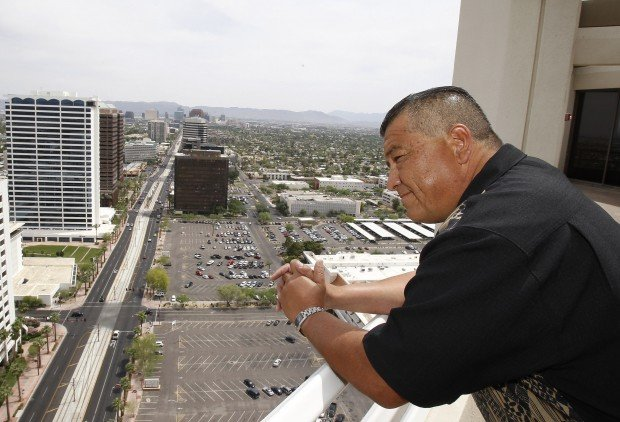 Phx. cop's challenge to immigration law gets a hearing today