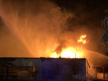 Fire at Breakers Water Park