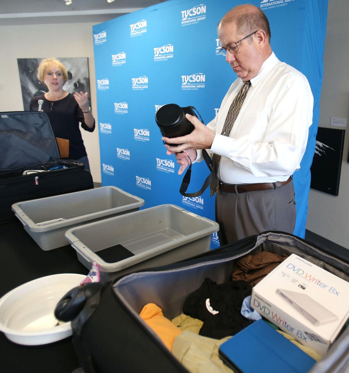 New airport screening rules at Tucson International Airport