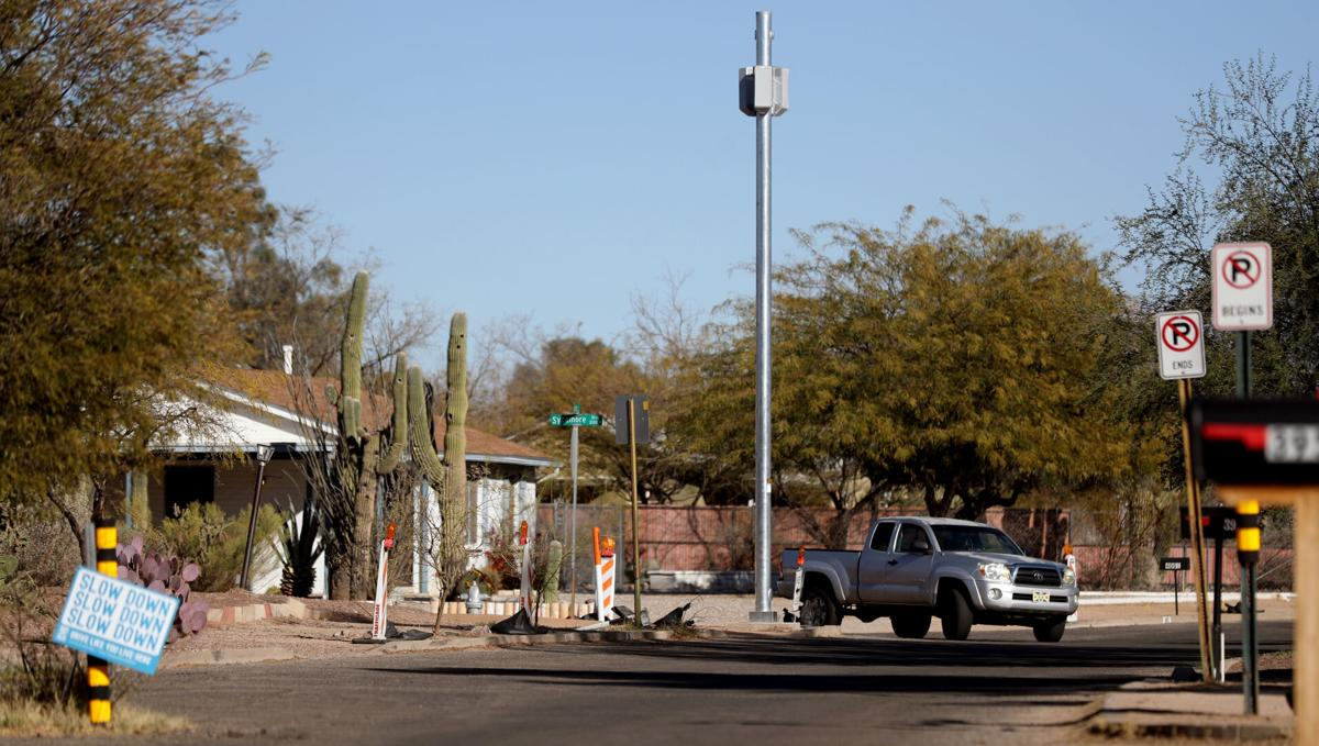 5G cell towers, Tucson
