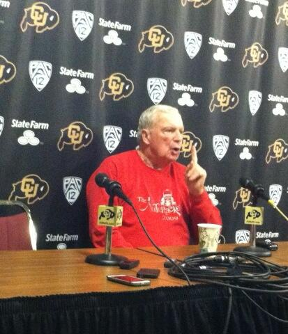 Digger Phelps speaks at Coors Events Center