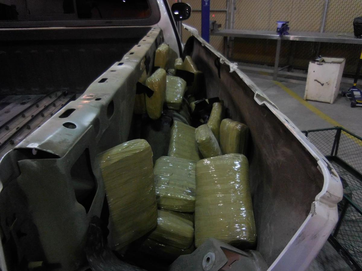 130 pounds of marijuana seized by border agents in Douglas